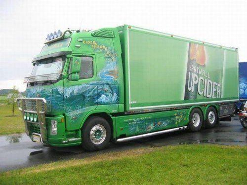 Потрясающее финское шоу грузовиков 2009 - фото 26
