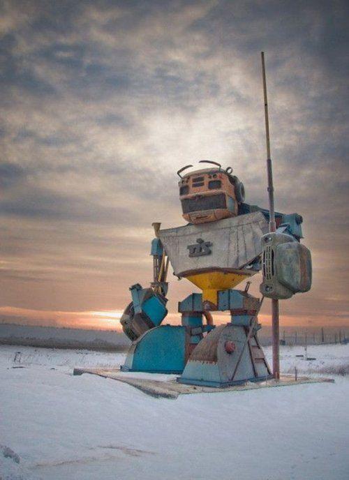 В Одесской области появился 10-метровый Трансформер! - фото 2