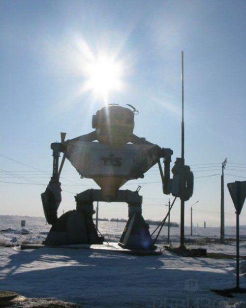 В Одесской области появился 10-метровый Трансформер! - фото 3