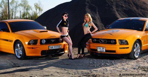 Украинские девушки vs. мажорные тачки - фото 11