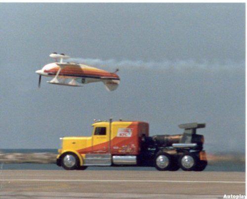 Shockwave Jet Truck- экстремальный грузовик, развивающий 612 км/ч - фото 9