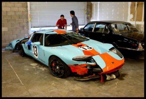 И вот снова: тюнер взял на тест-драйв клиентский Ford GT Twinturbo! - фото 2