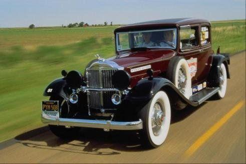 Старинные авто - фото 1