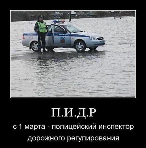 Инспектор ДПС с 1 марта будет именоваться - П.И.Д.Р. - фото 1