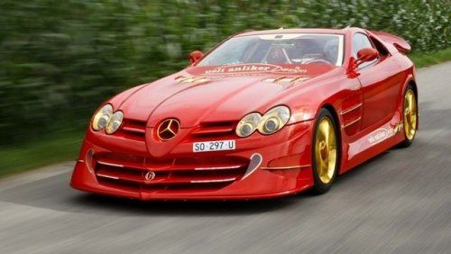 Mercedes-Benz SLR McLaren Red Gold Dream продают за 11 млн.$ - фото 22