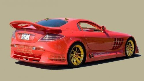 Mercedes-Benz SLR McLaren Red Gold Dream продают за 11 млн.$ - фото 17