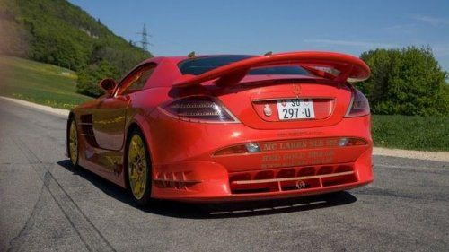 Mercedes-Benz SLR McLaren Red Gold Dream продают за 11 млн.$ - фото 8