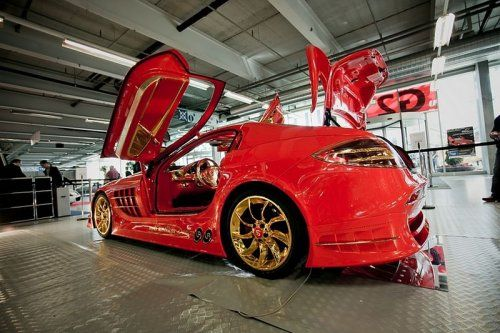 Mercedes-Benz SLR McLaren Red Gold Dream продают за 11 млн.$ - фото 18