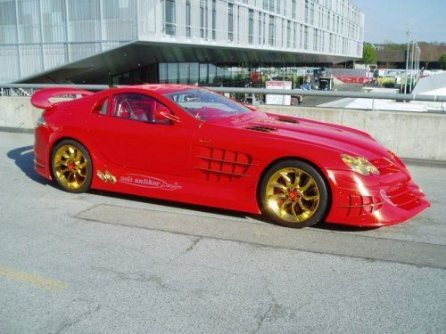 Mercedes-Benz SLR McLaren Red Gold Dream продают за 11 млн.$ - фото 6