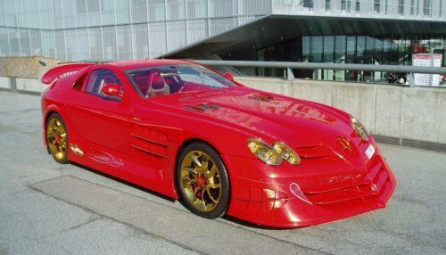 Mercedes-Benz SLR McLaren Red Gold Dream продают за 11 млн.$ - фото 16