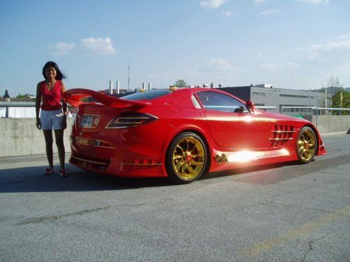 Mercedes-Benz SLR McLaren Red Gold Dream продают за 11 млн.$ - фото 12