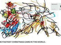 BMW поздравила с наступающими самой быстрой открыткой в мире! - фото 1