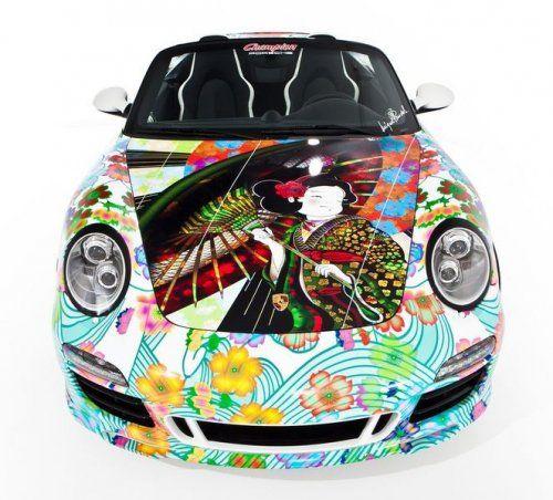 Дизайнерская раскраска Porsche 911 Speedster  - фото 4