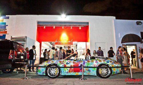 Дизайнерская раскраска Porsche 911 Speedster  - фото 9