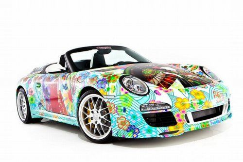 Дизайнерская раскраска Porsche 911 Speedster  - фото 6