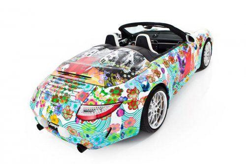 Дизайнерская раскраска Porsche 911 Speedster  - фото 3