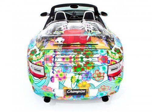 Дизайнерская раскраска Porsche 911 Speedster  - фото 5