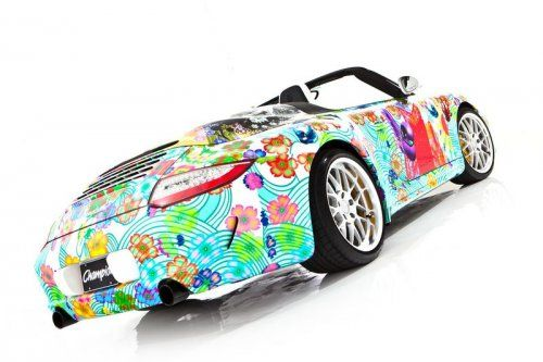 Дизайнерская раскраска Porsche 911 Speedster  - фото 2