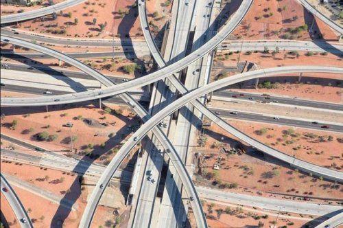 Дорожные развязки в Техасе - фото 5