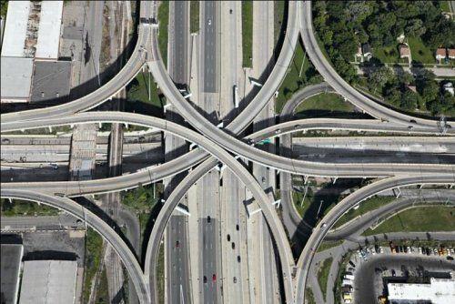 Дорожные развязки в Техасе - фото 7