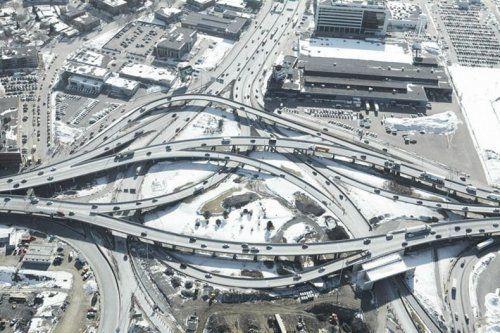 Дорожные развязки в Техасе - фото 3