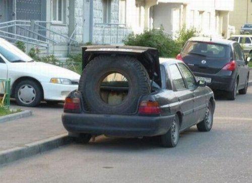 Подборка автомобильных приколов прошедшего года - фото 58