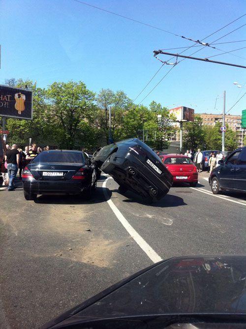 Подборка автомобильных приколов прошедшего года - фото 35