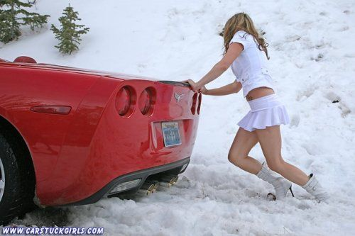 Зима, девушки и автомобили - вещи несовместимы?! - фото 12