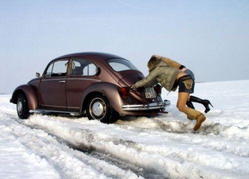 Зима, девушки и автомобили - вещи несовместимы?! - фото 11