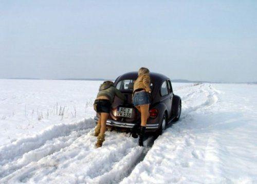 Зима, девушки и автомобили - вещи несовместимы?! - фото 14