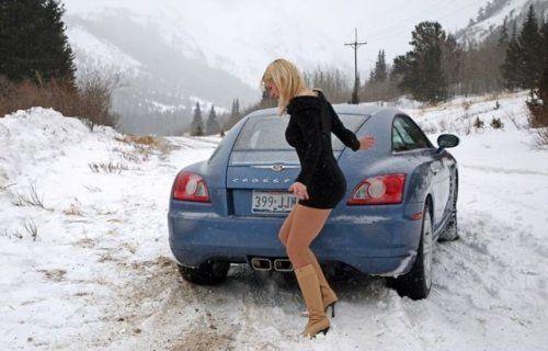 Зима, девушки и автомобили - вещи несовместимы?! - фото 26