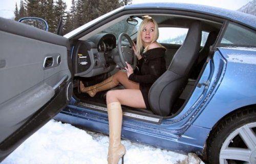 Зима, девушки и автомобили - вещи несовместимы?! - фото 28