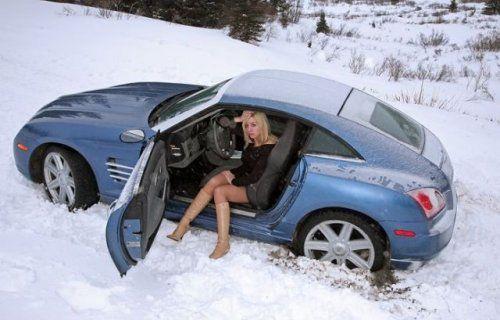Зима, девушки и автомобили - вещи несовместимы?! - фото 1