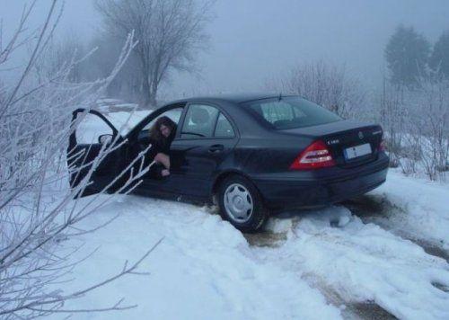 Зима, девушки и автомобили - вещи несовместимы?! - фото 18