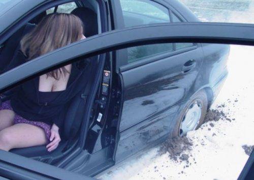 Зима, девушки и автомобили - вещи несовместимы?! - фото 23
