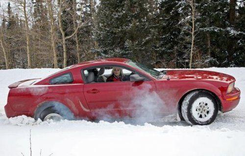 Зима, девушки и автомобили - вещи несовместимы?! - фото 16