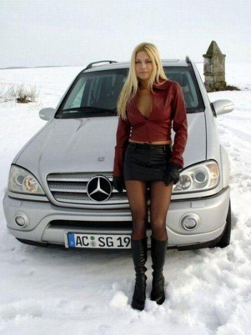 Зима, девушки и автомобили - вещи несовместимы?! - фото 33