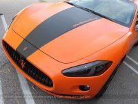 Maserati GranTurismo S затянули в оранжевую пленку в DBX - фото 6