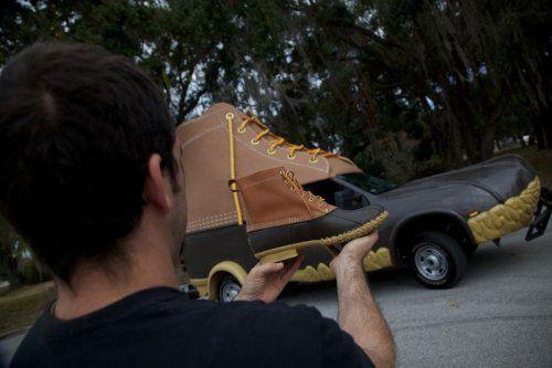 Автомобиль-ботинок 747 размера  - фото 4