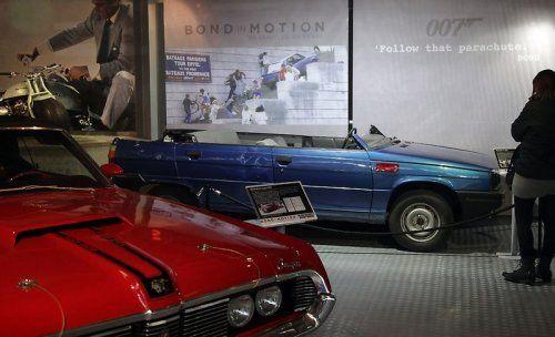 В Великобритании открылся музей автомобилей Джеймса Бонда - фото 31