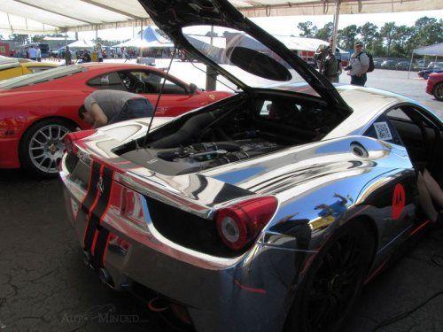 Хромированная Ferrari 458 Challenge - фото 2