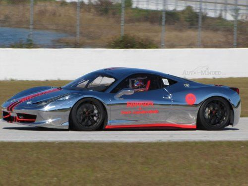 Хромированная Ferrari 458 Challenge - фото 11