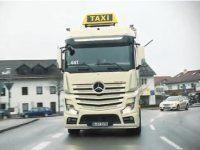 Mercedes-Benz Actros превратили в классическое берлинское такси - фото 1