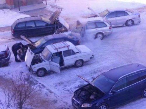 Подборка неудачников и смешных ситуаций на дороге - фото 19