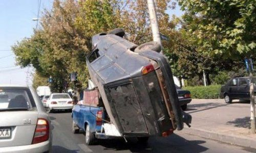 Подборка неудачников и смешных ситуаций на дороге - фото 41