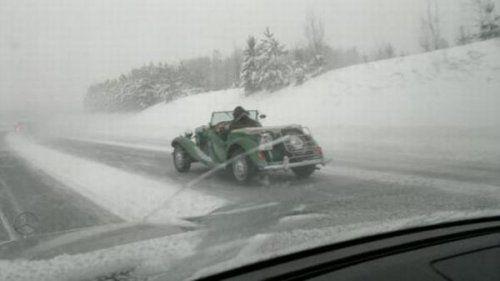 Подборка неудачников и смешных ситуаций на дороге - фото 29