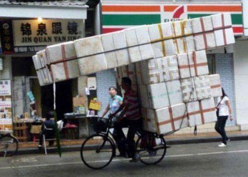 Подборка неудачников и смешных ситуаций на дороге - фото 5