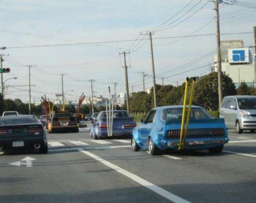 Подборка неудачников и смешных ситуаций на дороге - фото 35
