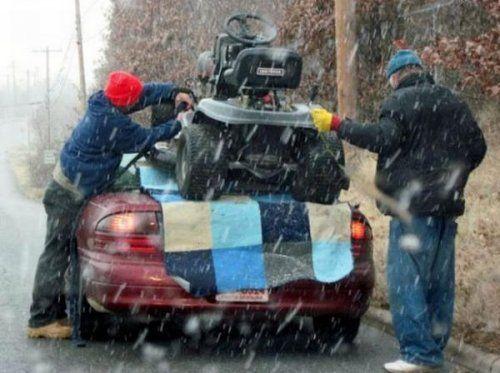 Подборка неудачников и смешных ситуаций на дороге - фото 31
