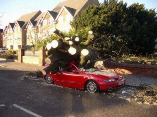 Подборка неудачников и смешных ситуаций на дороге - фото 27